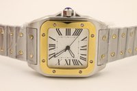 big butterflies - new Luxury automatic movement two tone XL stainless steel mechanical fashion sapphire quality big dial