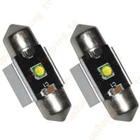 4 x High Power 31MM 32MM 3535-SMD Blanc Dome Festoon LED Carte Ampoule DE3175 pour la livraison gratuite