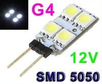 Wholesale New V G4 Lamp Bulb White LED SMD Light Home Car RV Marine Boat LED Lighting