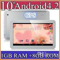 10 inch Android 4.2 8GB u5PCS 10 10.1 Inch Quad Core 3G Phablet Android 4.2 1GB RAM 8GB MTK8382 Quad Core 1.3Ghz GPS Bluetooth Dual Sim Card Tablet Phone PB10-6
