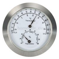 Wholesale Guitar Violin Thermo Hygrometer Moisture Meter Humidity Monitor Thermometer Case