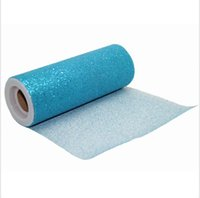bulk glitter - Bulk Turquoise quot x10Y each of one GLITTER TULLE Roll Tutu Wedding Gift Bow Craft Bridal Decorating