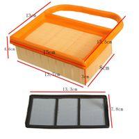 air filter lawn mower - Lawn Mower Air Filter Orange Kit For Stihl TS410 TS420 Concrete Cut Off Chop Saw