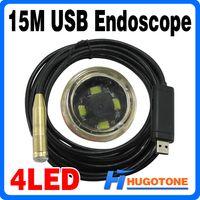 Wholesale Mini M USB Waterproof Endoscope Industrial Pipe Borescope Snake Inspection Camera High Performance Security CCTV Camera