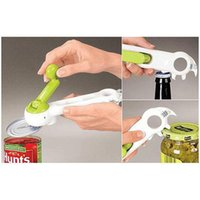 Wholesale FREE DHL Powerful Kitchen Cando Opener MultiFunction Open Cans Lifts Tabs Pries Tins Bottles Breaks Jar Seals Accessories Factory Direct