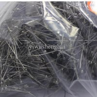 Wholesale New arrival hot discount promotion jewellery finding accessory for women jewelry making mm good quality black pearl head pins