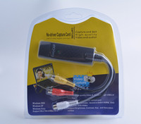 analog usb converter - Mini EASYCAP USB Video TV DVD Audio Capture Adapter AV Analog Converter Supporting Window XP win7 win8 Channel
