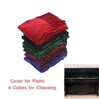 Wholesale Full Piano Cover Pleuche Decorated with Macrame for Upright Vertical Piano Universal Beautiful New Arrival order lt no track