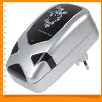 Wholesale Big Load kw Electricity Energy Saving Box Power Saver Box Energy Saving Device for Home EU Plug