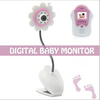 Wholesale Wireless Portable Baby Monitors Vedio Camara Inch Screen GHz Infant Digital Video CCTV System Display Camera MOQ5PC
