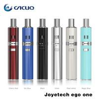 Cheap Joyetech Ego One Joye Ego One 1.8ml 2.5ml Vaporizer Atomizer Ego Tank Adjustable Airflow 1100mah 2200mah E Cigarette Joye Ego One Pen Kits
