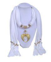 Wholesale WishCart2016 new hot spring popular angel wings golden pendant brand ladies scarf multicolor mixed batch