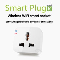 adapters housing - Kankun K2 Smart Plug WiFi Remote Control Socket Power Adapter Electrical Wireless Switch by Using Android iPhone Smartphone APP House Helper