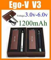 Cheap Adjustable voltage e-cig electronic cigarette ego battery 1300mAh Ego-v v3 Ego v v3 Ego Battery EGO twist starter kit for vaporizer DC015