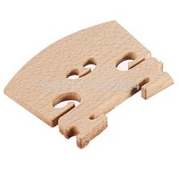 Wholesale New Arrival Violin Bridge Fiddle Maple Wood Laser Cut Size Instrument Accessories Parts Excellent