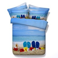 Woven beach quilt cover - Beach bedding set bed sheets duvet cover sea floral starfish twin full queen super king size double linen bedspreads doona quilt bedlinen