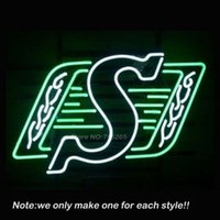 Cheap Rare New S Neon Sign Recreation Room Art Design Handcraft Decorate Lamp Neon Bulbs Store Display Gifts 17x14
