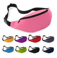 belly pillow - 100pcs Sport Runner Fanny Pack Belly Waist Bum Bag Fitness Running Jogging Belt Pouch BY DHL