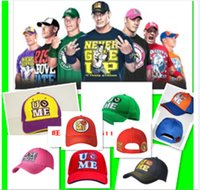 john cena cap - John Cena Baseball cap Black and yellow caps Purple Pink wrestling contest Star Title Cena blue red Baseball cap