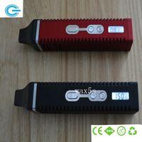 Cheap Single kit Best Red Plastic vaporizer