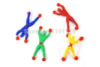 novelty gifts and toys - soft min Spider man climb wall and window kids Novelty toys for children gifts plastic doll interesting and fun