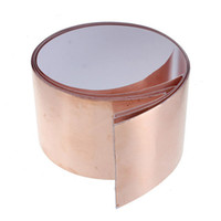 Wholesale Hot Sale cm x30cm Single Sided Electric Conductive Adhesive Copper Foil Tape Insulation Tape Shielding for Guitar Accessaries