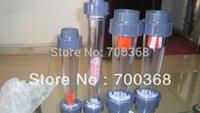 Wholesale LZS quot short tube water flow meter rotameter liquid flow meter with thread type