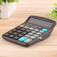 Wholesale HOT SALE special offer office solar energy digit calculator power supply large screen student test essential computer