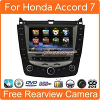 Wholesale car dvd gps stereo radio navigation for honda accord Bluetooth Stereo Radio dual Single Zone Climate Control