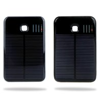 Wholesale New mAh Portable Solar Mobile Power Bank USB Port External Charger Universal for iPhone iPad Samsung Nokia Smartphones