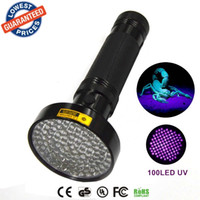 anti ultraviolet - ALONEFIRE Aluminum Shell Ultraviolet light For xAA Anti fake UV LED LED UV Flashlight Money Detector