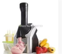 Wholesale 6pcs Portable Icecream Machine automatic Fruit Ice Cream Maker