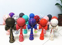 kendama - 18 CM Full Crack Kendama Ball Toy Smooth painting beech Wood Japanese Traditional Funny Sword ball Game Education Toy Christmas gift