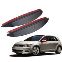 car parts - For Volkswagen VW GOLF MK7 special car rear viewmirror rain eyebrow rain shield sticker auto parts