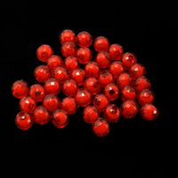 plastic beads - Round Plastic Approx mm g Acrylic Red color Beads for DIY Jewelry DH BSD099