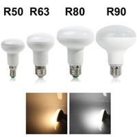 high lumen led - High Power LED Umbrella Lamp R50 R63 R80 R90 W W W W E14 E27 Cool Warm White V Dimmable LED Spotlight Bulb High Lumen Angle