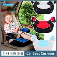 Wholesale Kids Booster White Red Blue Car Seat Cushion Carrier For Children kgs Child Booster Seat Car