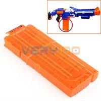 Wholesale 12 Darts Quick Reload Clip System Darts for Toy Gun Nerf N Strike Blaster order lt no track