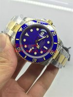 asia ceramic - Asia watch factory supply Top quality Luxury Sapphire mm blue DIAL CERAMIC BEZEL MODEL Automatic Mens Watch Men s Watches
