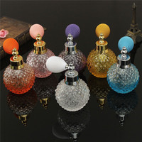 antique glass perfume bottles - 2015 PC ml Antique Gas Balloon Spray Perfume Bottle Crystal Glass Gift Ornament Total Length cm Bottle x7cm order lt no track
