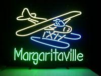 airplane restaurants - NEW JIMMY BUFFETT MARGARITAVILLE AIRPLANE NEON SIGN REAL GLASS TUBE BEER BAR PUB Neon Light Sign store display