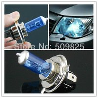 Wholesale H4 V W P43T HALOGEN HEADLIGHT BLUE GLASS LAMP SUPER WHITE by FEDEX or DHL