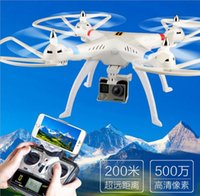 Wholesale HQ899 G CH Big RC Quadcopter Drone Helicopter With MP HD Wifi FPV Camera Can lift Gropp Xiaomi Long Distance Flying