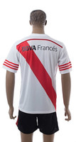 Wholesale River Plate Soccer Jersey Top Quality Kits Customized Soccer Jersey with Shorts Size S XL