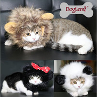 Wholesale 2015 Pet dog cat pet wig caps funny panda hat Mickey turned installed