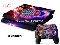 Cheap 10pcs lot for ps4 skin sticker various design for ps4 game controller in stock m u nchen design