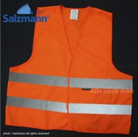 Wholesale Reflective safety vests night clothes clothing M reflective material safety warning