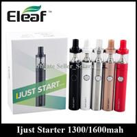 air start - Original Eleaf Ijust Start Kit mAh Ijust Start Plus Kit mAh ml ml GS Air Atomizer Starter Kit