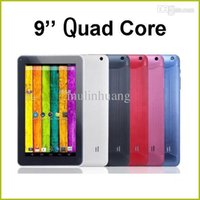 Wholesale 9 Inch Quad Core AllWinner A33 Android KitKat Tablet PC MB RAM GB ROM Wifi Dual Camera Tablet PC MQ05