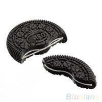 Wholesale Funny Close Up Magic Street Trick Biscuit Bitten And Restored Gimmick Cookie toy U4J